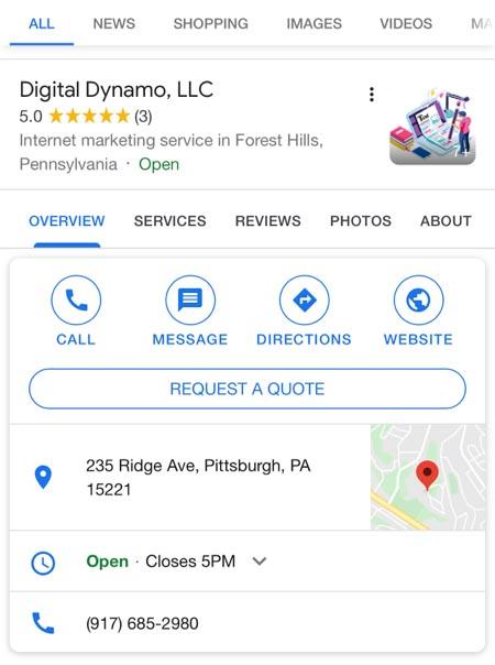 Digital Dynamo on Google My Business